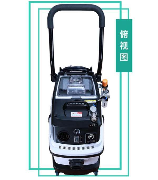 气动无尘干磨机 车身车漆腻子粉吸尘器电动 汽车维修钣金研磨系统