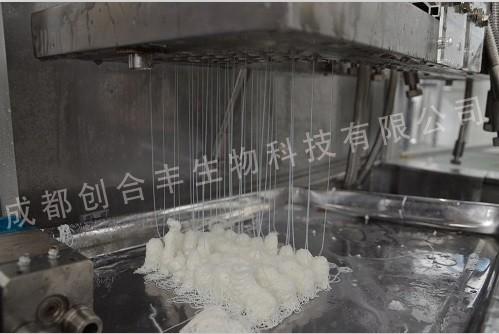 血液透析器中空纤维纺丝机生产线