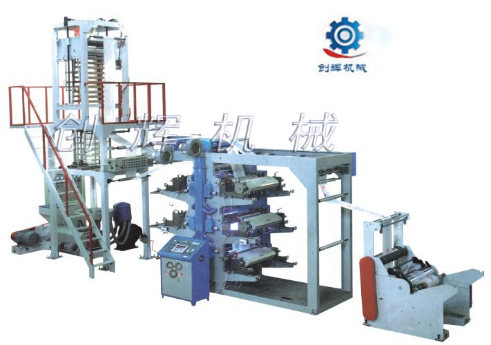 PE吹膜印刷连体机