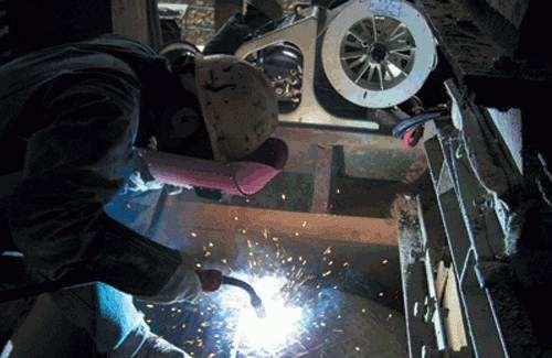 D65型高合金破碎机耐磨堆焊电焊条3.2/4.0/5.0 D55耐磨堆焊焊条