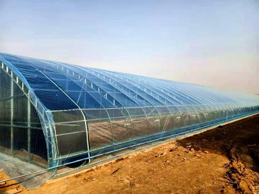 达威-新型120型温室双膜骨架