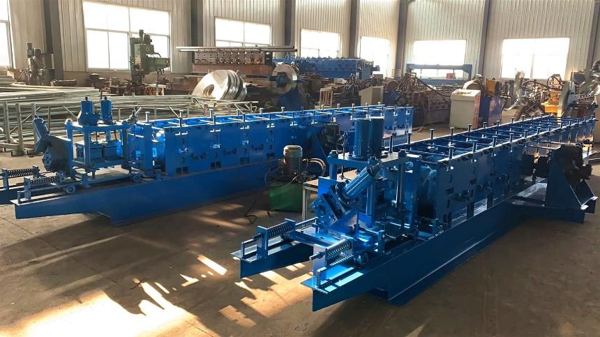 山东达威温室大棚卡槽快速成型设备 卡槽机