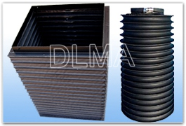 供应钢丝支撑三防布与缝合式圆形护罩型号规格可根据客户要求设计制作河北防护罩生产厂