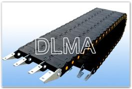 供应DLMA-新加强型工程塑料拖链型号规格齐全有现货款到即可发货