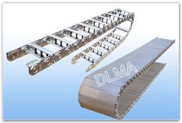 供应DLMA—GLE全封闭型钢制拖链型号规格可根据客户要求设计制作