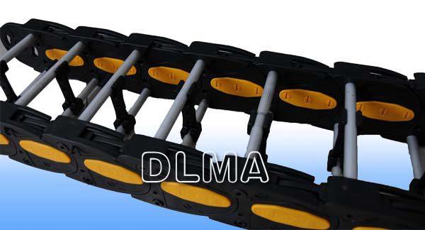 供应DLMA-CL系列桥式塑铝拖链新型产品方便轻巧外形美观结实耐用