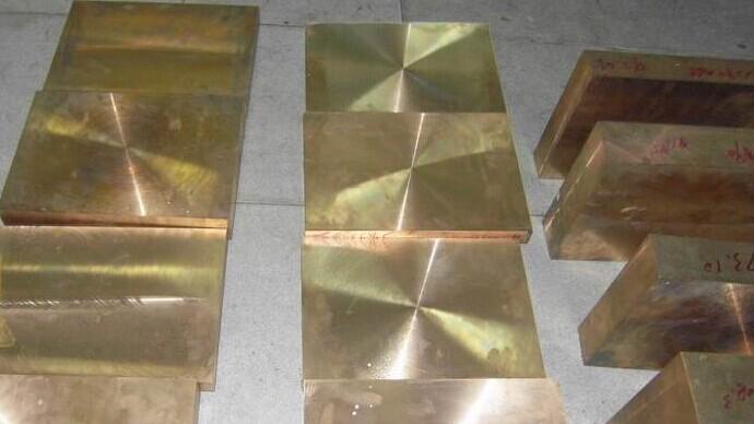 高精c17500铍钴铜板高导热耐磨铍铜板