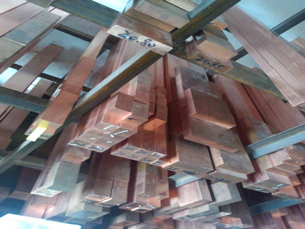 批发零售Qbe1.7铍铜排超薄环保导热铍铜排