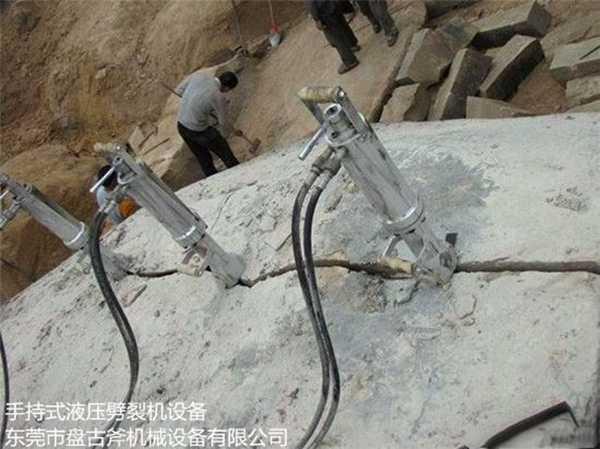 盘古斧牌液压分裂枪可产生几十吨的推力?