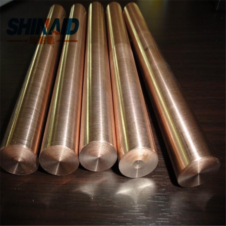 高熔点W90钨铜棒 进口W90电极钨铜棒