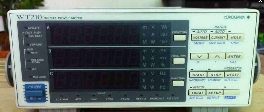 东莞供应回收WT210横河功率计WT210买机子送程序软件