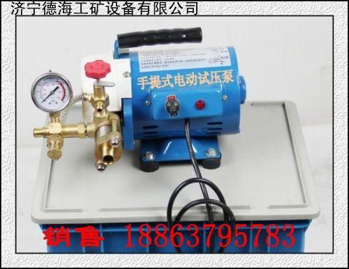 供应德海牌DSY-60手提式电动试压泵