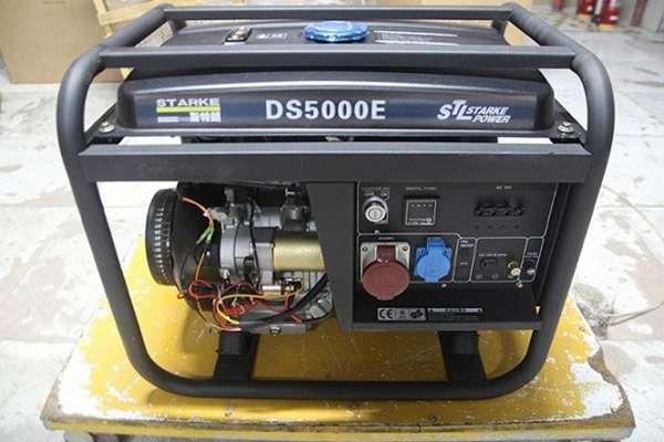上海萨登8kw汽油发电机DS8000E型号价格