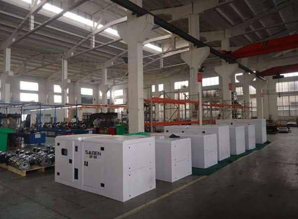 上海萨登500kw大型静音柴油发电机DS500CE报价