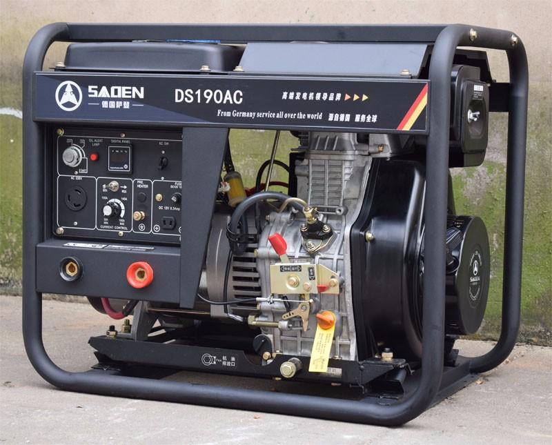 上海萨登190A柴油发电电焊机DS190AC价格