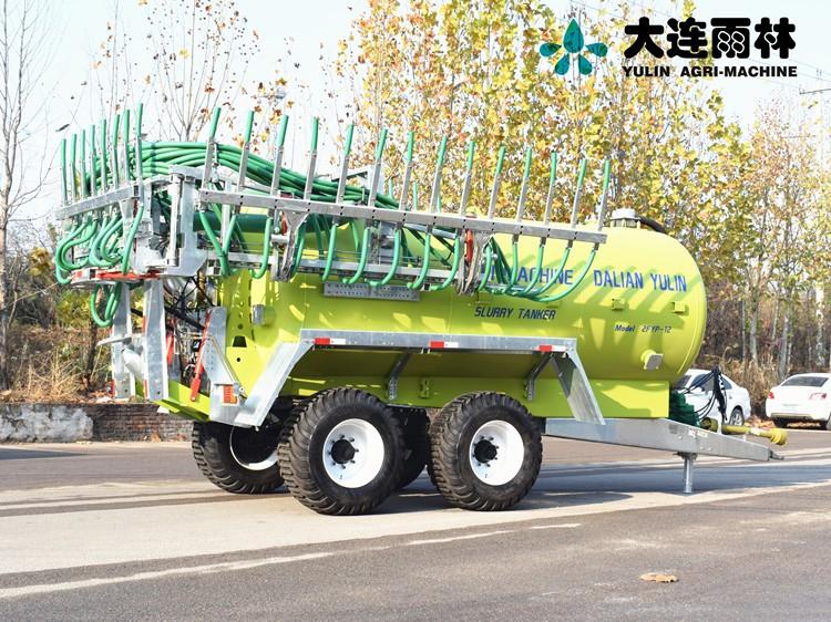 大连雨林12立方新型液态洒粪车 沼液施肥机 液态有机肥撒施机