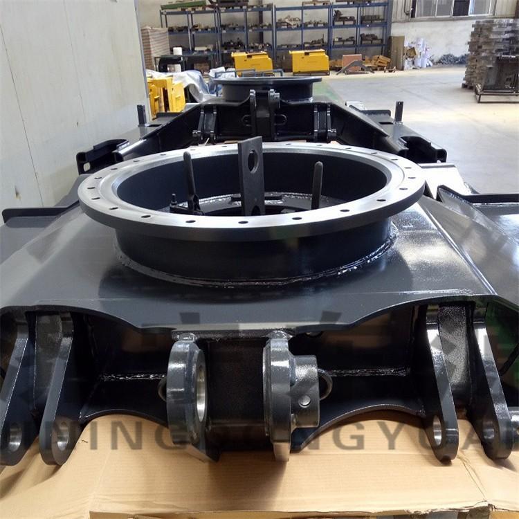 东源机械出售挖掘机下车架 PC130伸缩下车架多少钱