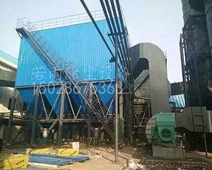 山西钢铁厂烧结机窑头布袋除尘器