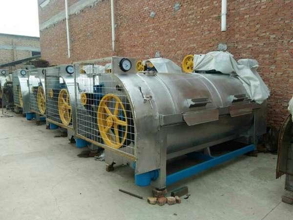德州出售二手工业水洗机二手100公斤鸿尔洗脱机