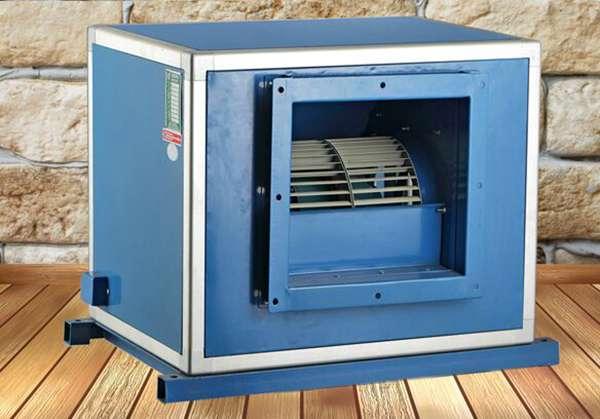 提供山东亚太冠名产品设备(DBF柜式离心风机)订做新疆地区排烟风机设备