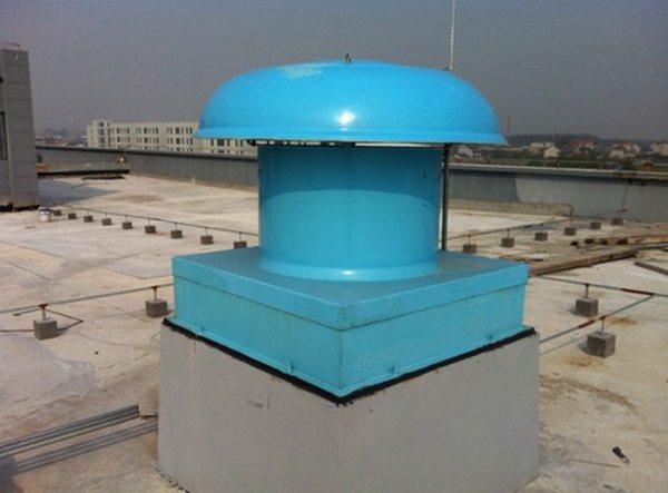 山东亚太出售屋顶常用排风产品(DWT玻璃钢屋顶风机)订做各种型号排风机