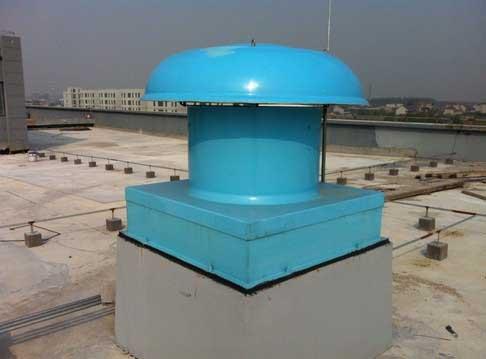 """亚太公司供应""""承德地区""""DWT-II-NO低噪声玻璃钢屋顶风机"""