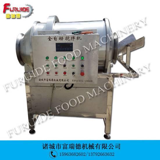 GB-300L型黄瓜菜滚筒式搅拌入味拌料机