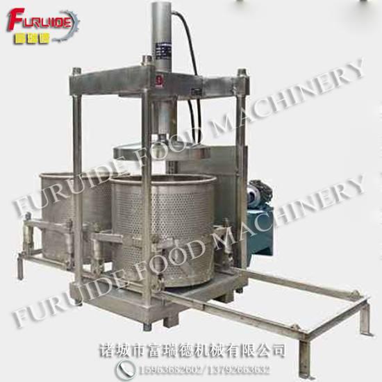 LY-200型米酒黄酒酒糟压榨脱水机