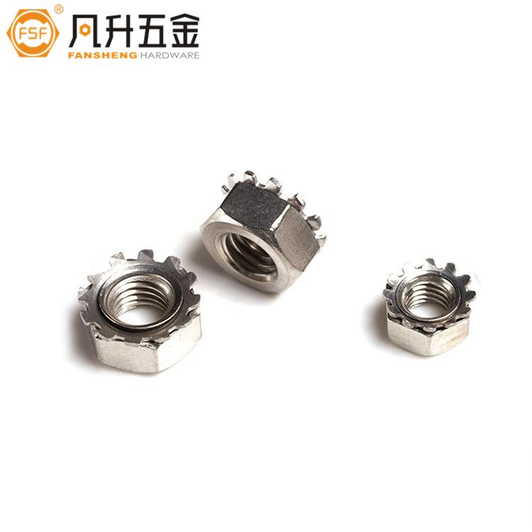 4级K型螺母镀锌