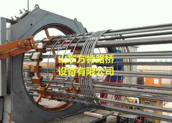 山东方特路桥YGT-2200数控钢筋笼滚焊机