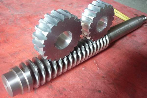 3T滚牙机蜗轮蜗杆