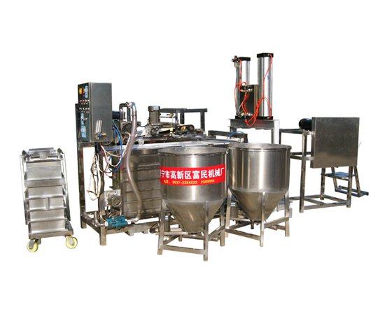 富民食品机械厂豆腐皮机豆腐机凉皮机玉米杂粮面条机