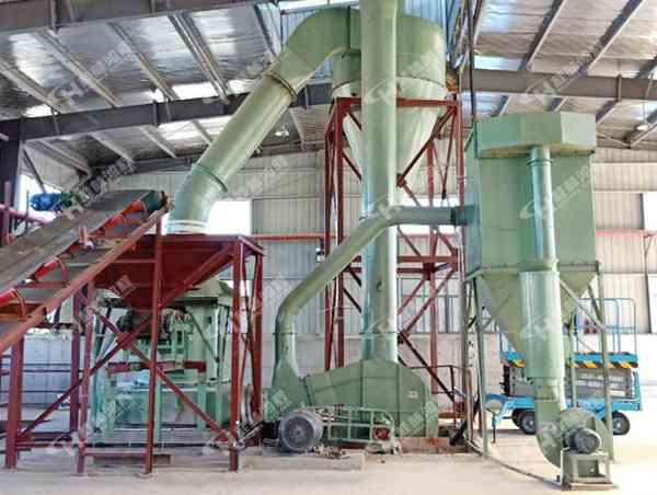 煤粉粉碎机大型煤粉雷蒙磨HC2000磨粉机生产线