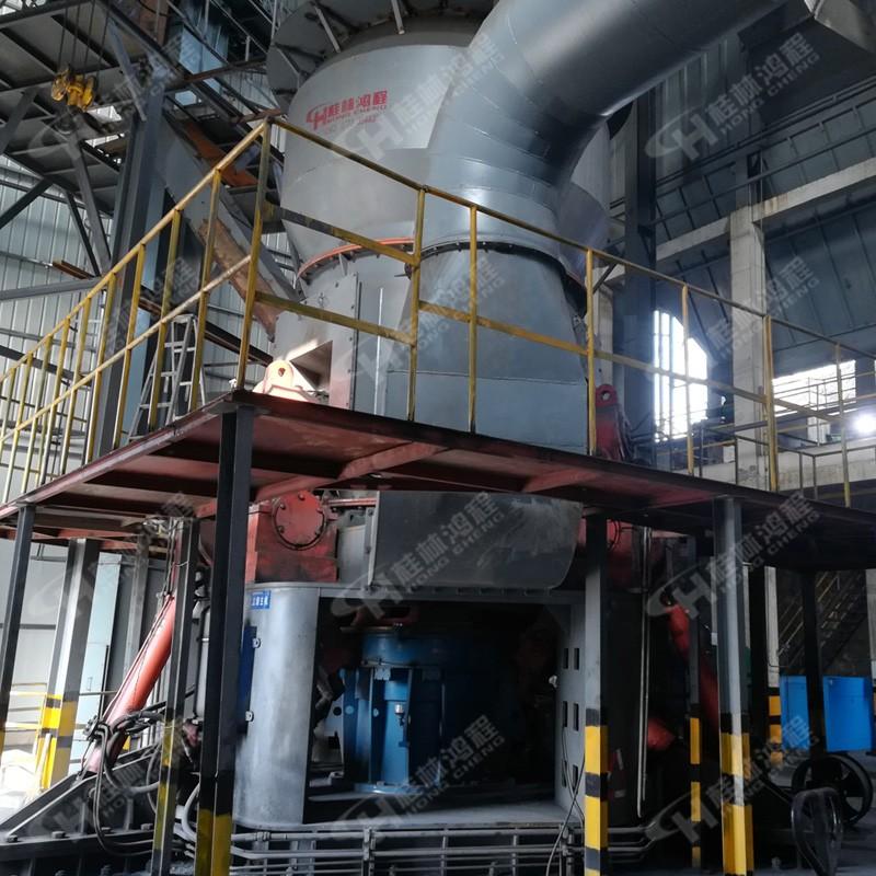 电厂脱硫用石灰粉立磨HLM立式磨粉机