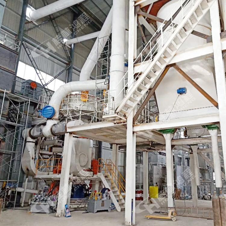 台湾超细立磨 碳酸钙气流微粉磨 HLMX超细立式磨粉机