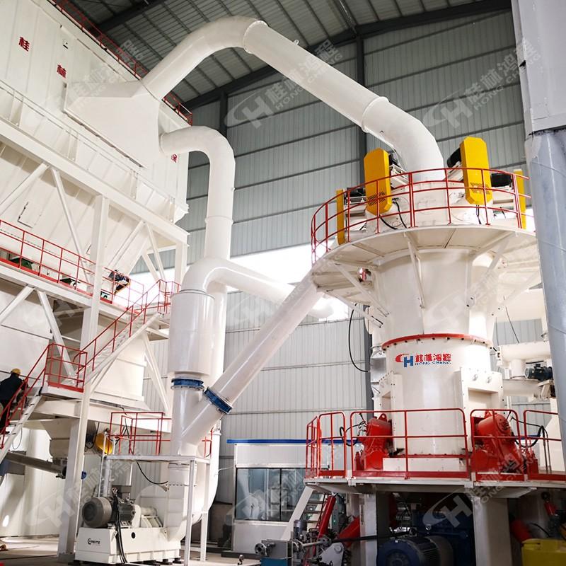 石墨烯粉体规模化制粉设备超细石墨粉立磨