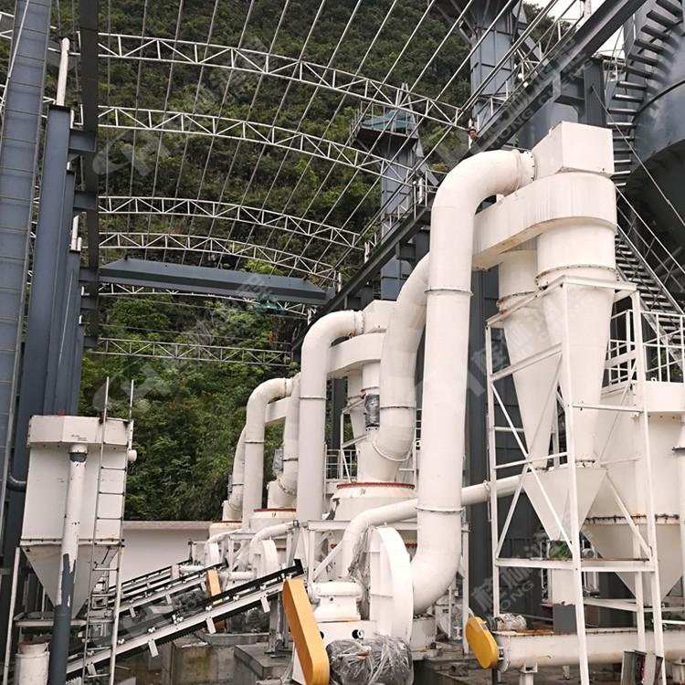 桂林市雷蒙机厂 鸿程纵摆式雷蒙磨机 HC1700方解石磨粉机