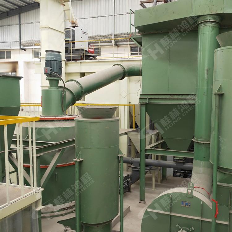 河南r型雷蒙机 小型方解石磨粉机 R系列摆式磨粉机
