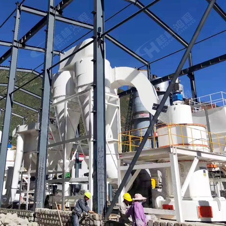 铱粉矿渣磨粉生产线大型雷蒙磨机