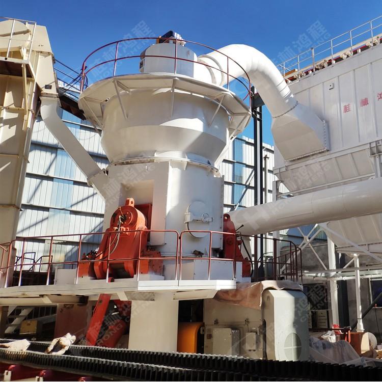 时产50吨的矿渣立磨生产线设备HLM立式磨粉机