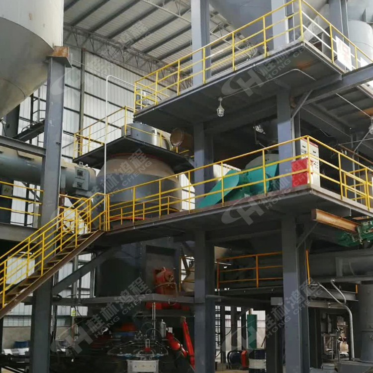 白云石金属镁生产线桂林鸿程HLM选矿立磨机