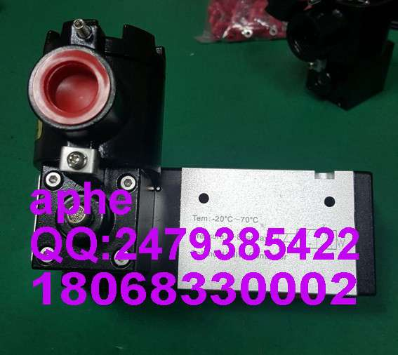铝合金CT6隔爆BDV510电磁阀气源接口1/2NPT低功耗3.5W管接两位三通