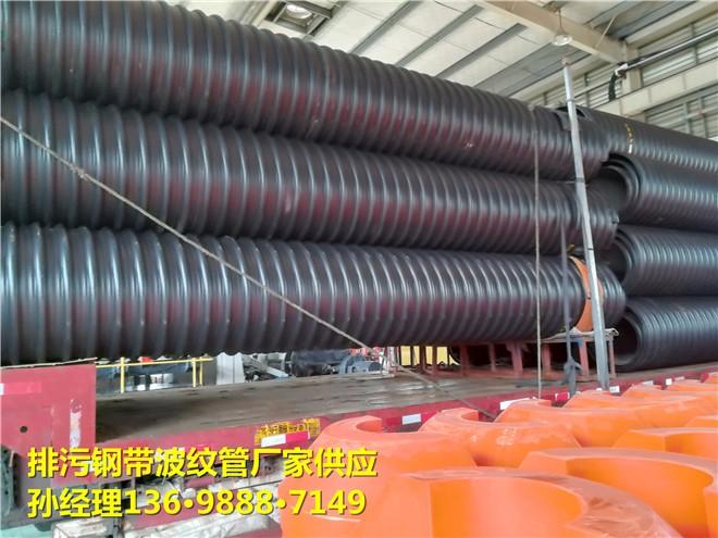 河北2米钢带缠绕波纹管