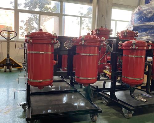 高精度滤油机真空滤油机手推便携式