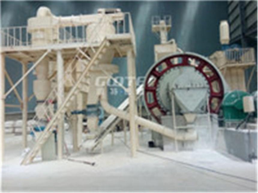 GMF石英长石粉生产线国特