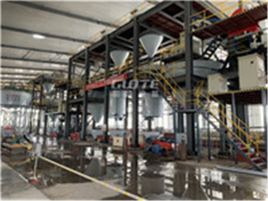 玻璃砂湿法生产线国特