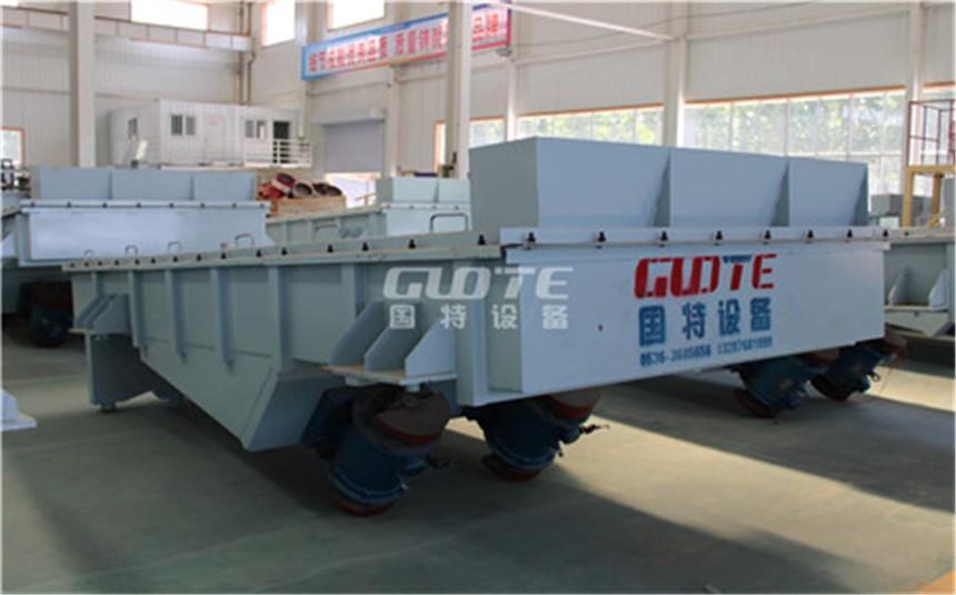 国特GDS石英砂专用振动筛自动排料