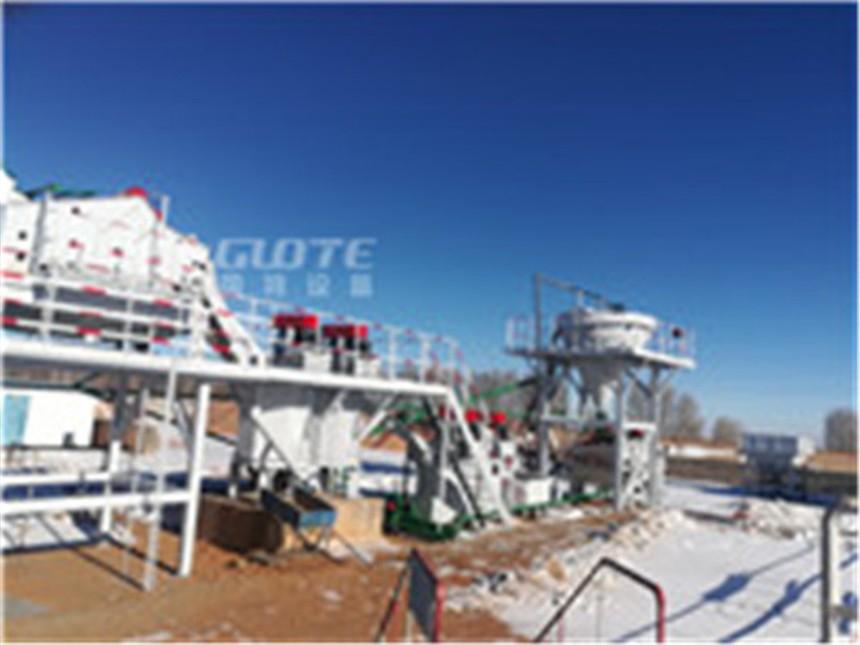 石油压裂砂生产线国特