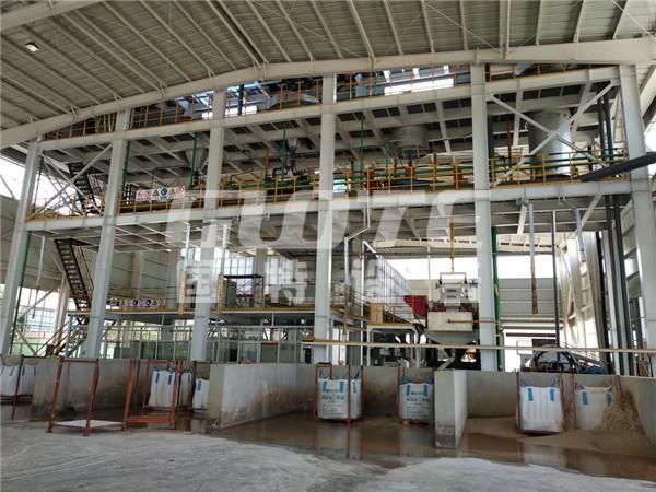 国特设备长石湿法生产线