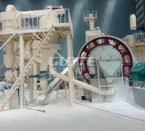 高纯石英长石粉生产线操作简单